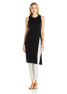 BCBGeneration Women's Front Slit Tunic Top