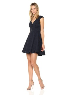 BCBGeneration Women's Front Zipper Dress