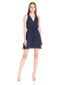 BCBGeneration Women's Halter Dress with Tie