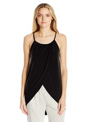 BCBGeneration Women's Halter  Front Wrap Tank Top