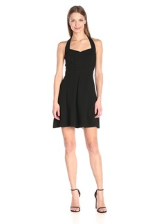 BCBGeneration Women's Halter Sweetheart-Neck Dress