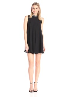 BCBGeneration Women's Jewel Collar Dress