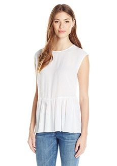 BCBGeneration Women's Lace Back Boxy Top