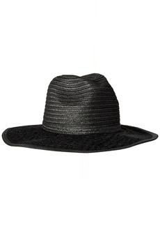 BCBGeneration Women's Lace Brim Panama Hat