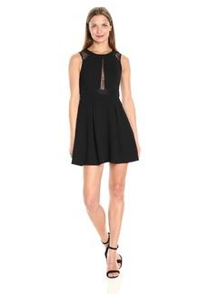 BCBGeneration Women's Lace Fit&Flare Dress