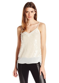 BCBGeneration Women's Lace Inset Cami