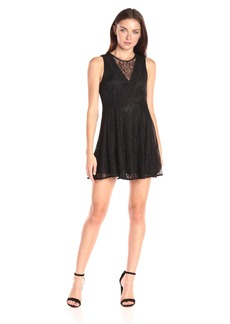 BCBGeneration Women's Lace Mix Dress