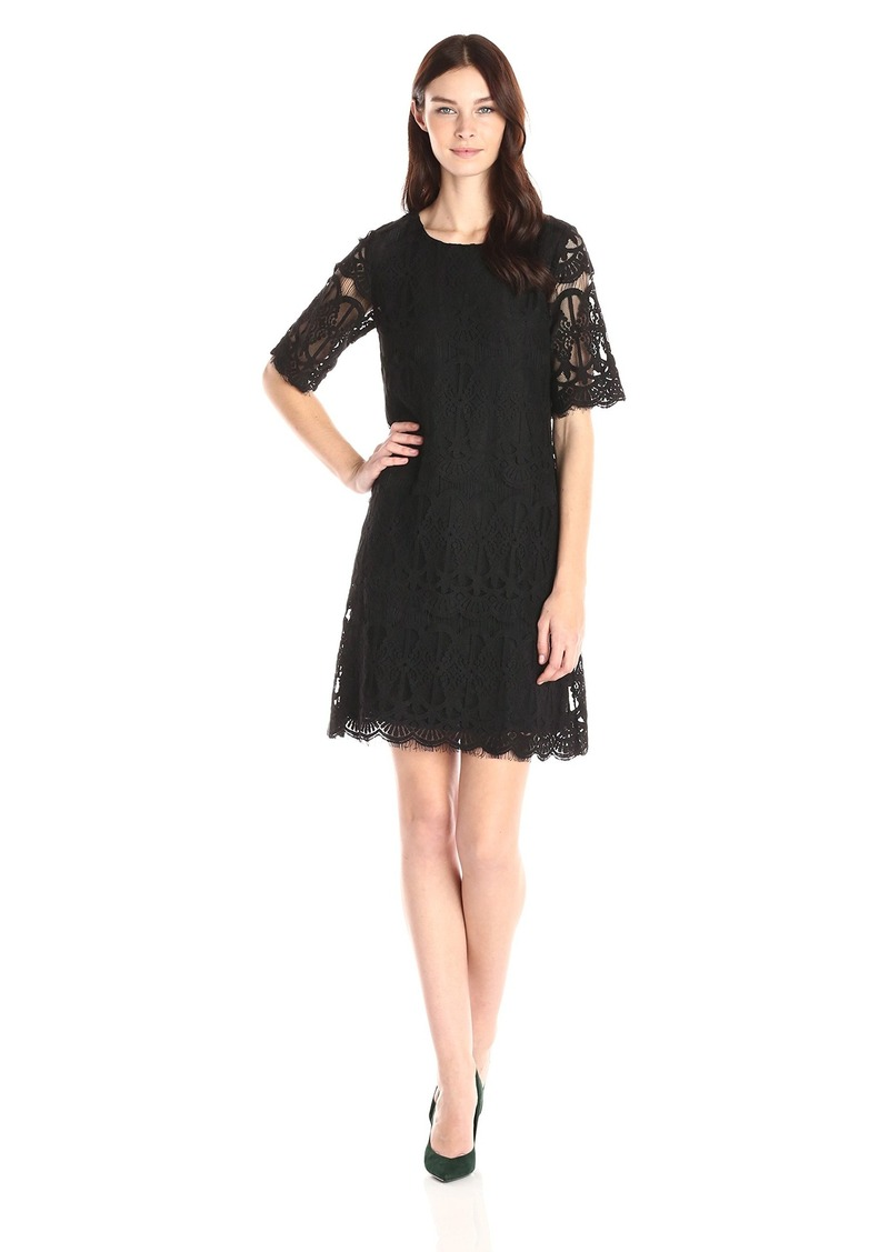 BCBGeneration Women's Lace Shift Dress