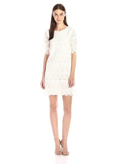 BCBGeneration Women's Lace Shift Dress