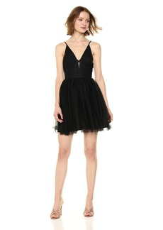 BCBGeneration Women's Lace up Tutu Dress