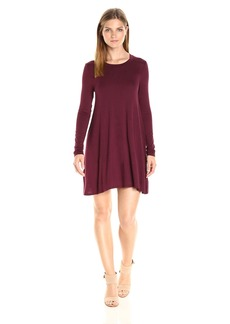 BCBGeneration Women's Long Sleeve Back Yoke Dress