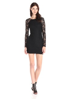 BCBGeneration Women's Long Sleeve Fitted Mini Dress