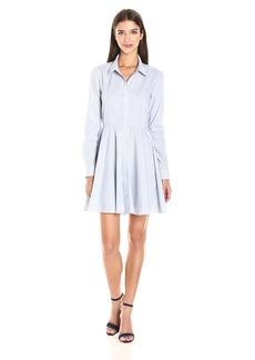 BCBGeneration Women's Long Sleeve Shirt Dress