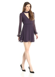 BCBGeneration Women's Low Cut Flare Dress