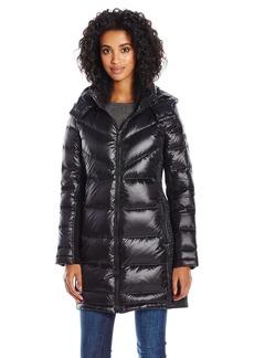 BCBGeneration Women's Mid-Length Down Puffer Coat  M