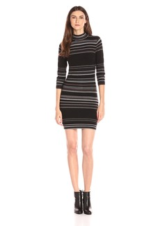 BCBGeneration Women's Mix Stripe Sweater Dress
