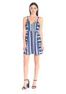 BCBGeneration Women's Nautical Print Fit-And-Flare Dress