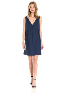 BCBGeneration Women's Neck Band Detail Dress