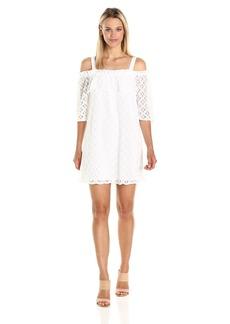 BCBGeneration Women's White Off Shoulder Dress  M