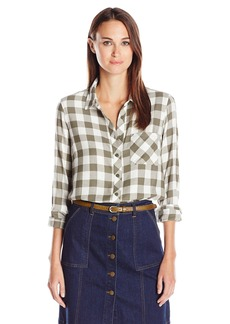 BCBGeneration Women's One-Pocket Shirt