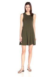 BCBGeneration Women's Open-Back A-Line Sleeveless Dress