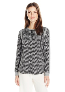 BCBGeneration Women's Panel Sweatshirt