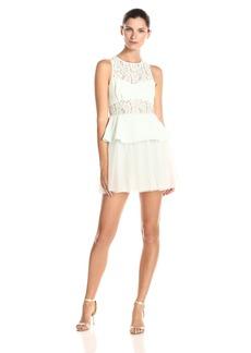 BCBGeneration Women's Peplum Dress