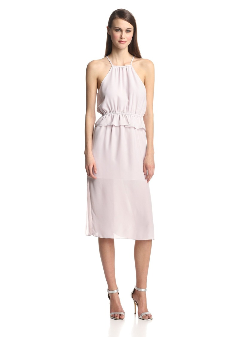 BCBGeneration Women's Peplum Midi Dress