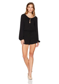 BCBGeneration Women's Pirate Blouse Romper