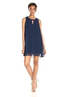 BCBGeneration Women's Pleat a-Line Dress