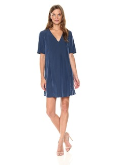 BCBGeneration Women's Pleat Front T-Shirt Dress