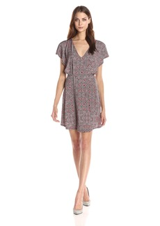 BCBGeneration Women's Printed Kimono Sleeve Dress