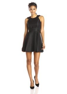 BCBGeneration Women's Ruffle Back Dress