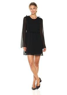 BCBGeneration Women's Ruffle Flirty Dress