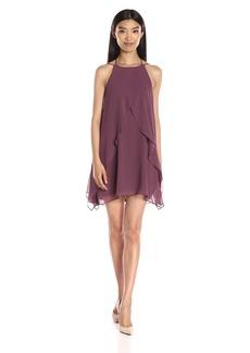 BCBGeneration Women's Ruffle Halter Dress