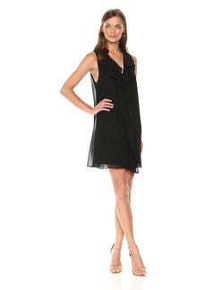 BCBGeneration Women's Ruffle Tent Dress