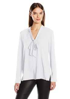 BCBGeneration Women's Scarf Neck Blouse