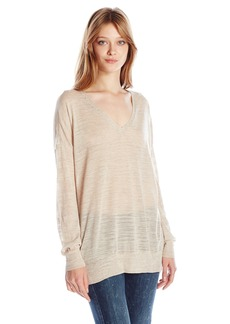 BCBGeneration Women's Semi-Sheer Tunic Top