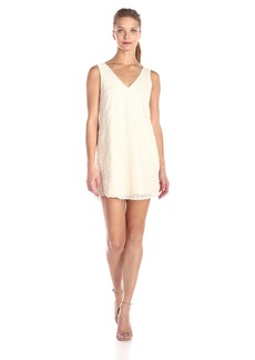 BCBGeneration Women's Shift Dress with Cont Back