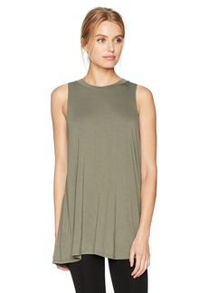 BCBGeneration Women's Slit Back Tank Top