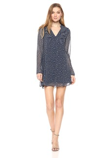 BCBGeneration Women's Star Print Dress  XS