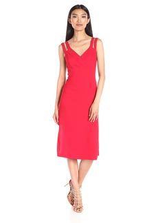 BCBGeneration Women's Strap Detail Column Dress