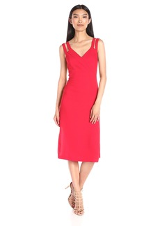 BCBGeneration Women's Strap Detail Column Dress