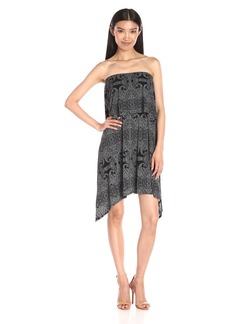 BCBGeneration Women's Strapless Popover Dress