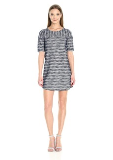 BCBGeneration Women's Stripe Mix Dress