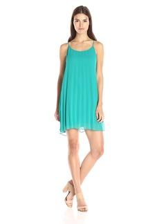 BCBGeneration Women's Sunburst Pleat Dress