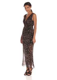 BCBGeneration Women's Surplice Maxi Dress