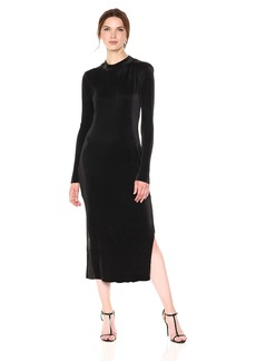 BCBGeneration Women's Textured Midi Dress  XXS