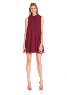 BCBGeneration Women's Tie-Neck Shift Dress