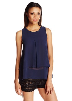 BCBGeneration Women's Tiered Pleated Tank